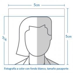 智利签证图片尺寸